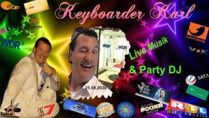 Im Rudel Singen mit Keyboarder Karl Alleinunterhalter NRW und DJ NRW mit Karaoke für alle